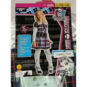 4/$20 Frankie Stein Costume Monster High Halloween